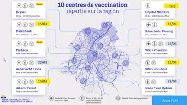 Les Bruxellois peuvent choisir leur vaccin en réservant