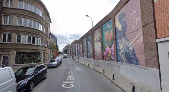 Chaussée de Boondael Ixelles - Capture Google Street View