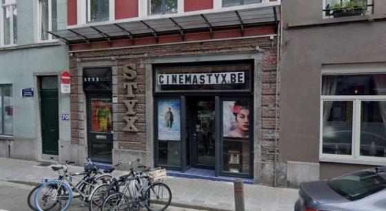 Cinéma Styx Ixelles - Capture Google Street View