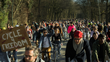 500 jeunes à vélo pour une prise en considération de la jeunesse dans les mesures COVID