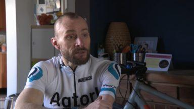 Le paracycliste jettois Thierry Dutrieux rêve des Jeux de Paris en 2024