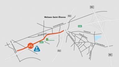 Une nouvelle piste cyclable entre Woluwe-Saint-Etienne et Woluwe-Saint-Lambert
