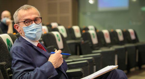 Frank Vandenbroucke Ministre fédéral de la Santé avec Masque - Belga Pool Olivier Matthys