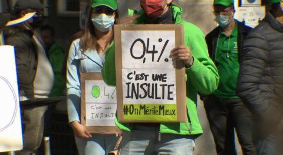 Manifestation grève Nationale Revalorisation salariale - Capture BX1