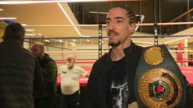 Boxe : Mohamed El Marcouchi repart avec la ceinture IBO