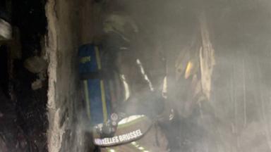 Une personne intoxiquée après un incendie à Jette