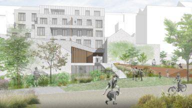 Mairesse Garden : 9 nouveaux logements, une crèche et un parc public à Saint-Gilles