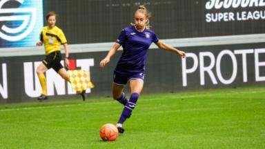 L'équipe féminine du RSC Anderlecht essuie sa première défaite de la saison