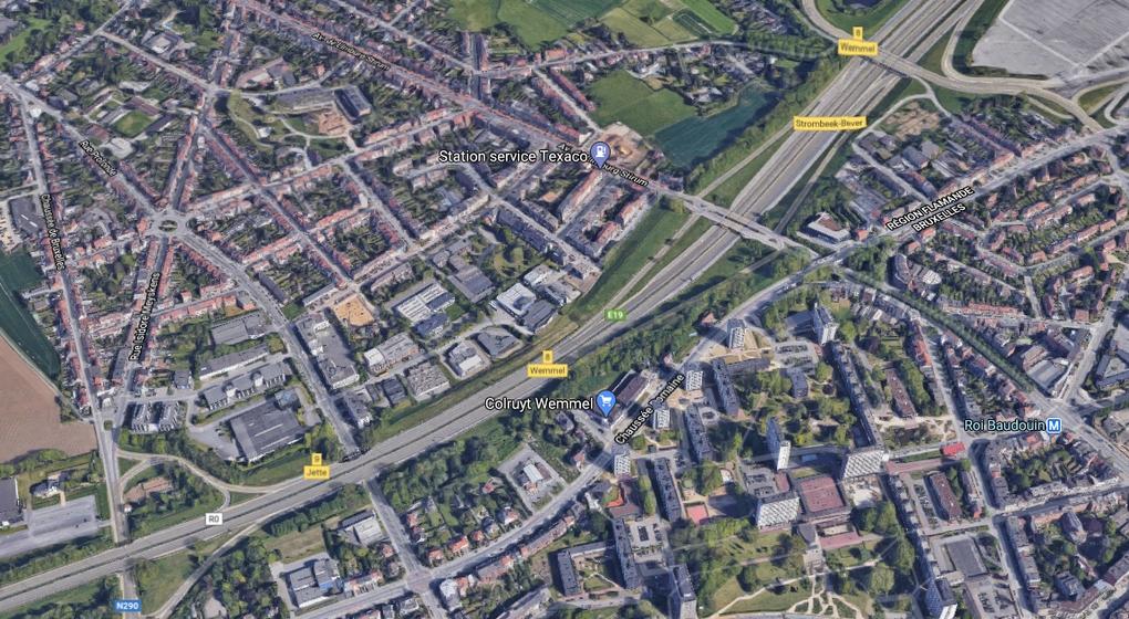 Ring de Bruxelles Heysel - Google Maps