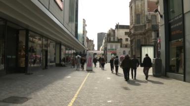 Le shopping sur rendez-vous : les rues commerçantes très calmes ce samedi