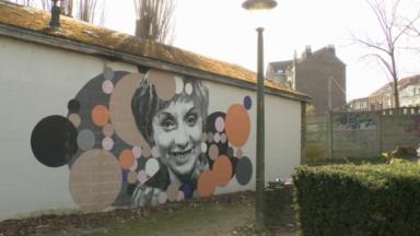 La fresque d'Annie Cordy au Parc de Laeken menacée de destruction