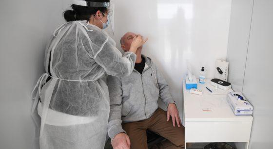 Test PCR Covid-19 Coronavirus - Belga David Stockman