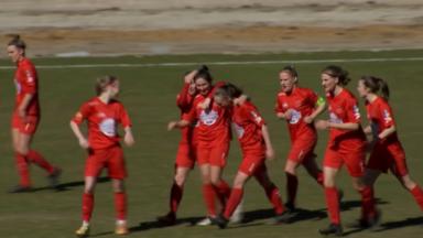 Football féminin : le Fémina White Star prend les trois points face à Genk