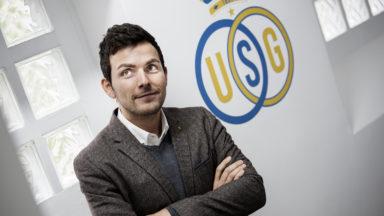 """Philippe Bormans, directeur général de l'Union Saint-Gilloise: """"On espère fêter le titre avec les supporters cette saison"""""""