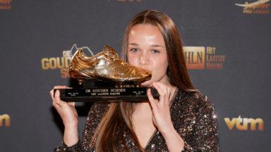 Tine De Caigny, la Soulier d'Or, quitte le RSCA