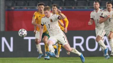La Belgique écarte le pays de Galles (3-1) pour débuter sa route vers le Mondial 2022