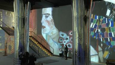 L'exposition immersive au coeur de l'univers de Gustave Klimt ouvre ses portes