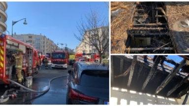 Ixelles : feu de toiture sur un bâtiment de kots, avenue Bergmann
