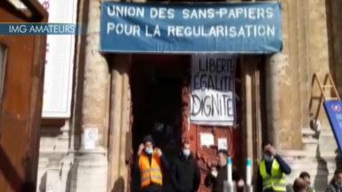 Sans-papiers de l'Église du Béguinage : des animations pour demander une régularisation