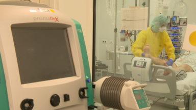 Hôpitaux bruxellois : la pression monte aux soins intensifs et dans les unités Covid