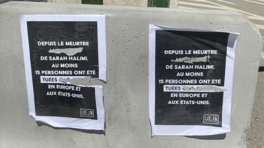 Des affiches pour dénoncer l'antisémitisme vandalisées