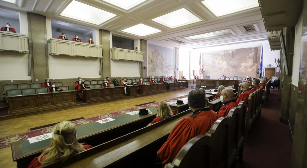 Audience Cour Appel Bruxelles Septembre 2020 - Belga Thierry Roge
