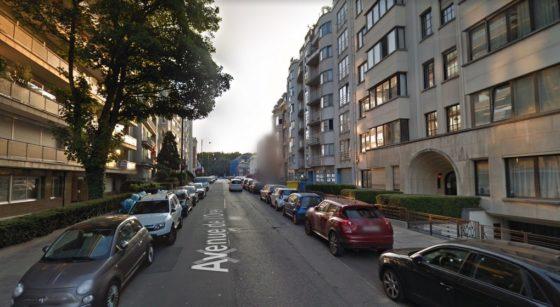 Avenue de l'Orée Bruxelles - Capture Google Street View