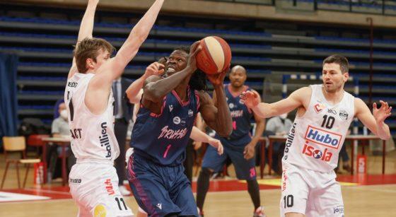Basket-ball Phoenix Brussels vs Limburg United - Angelo Chol - Belga Bruno Fahy