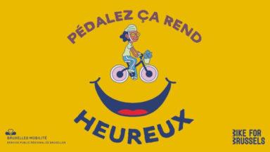 Bruxelles Mobilité lance une campagne d'affichage pour encourager à faire du vélo