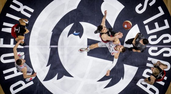 Brussels Basket Spirou Charleroi - Décembre 2020 - Belga Jasper Jacobs