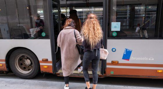 Bus Stib - Belga Nicolas Maeterlinck