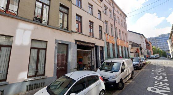 Cuisine Exki Rue de la Prévoyance Bruxelles - Google Street VIew