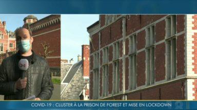 Covid-19 : la prison de Forest en confinement après la découverte d'un cluster