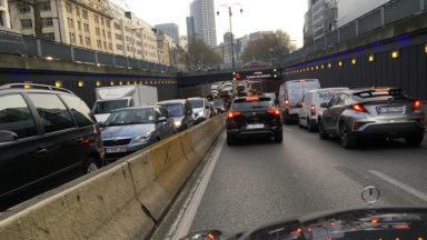 Les tunnels Rogier, Botanique et Trône sont partiellement fermés à la circulation