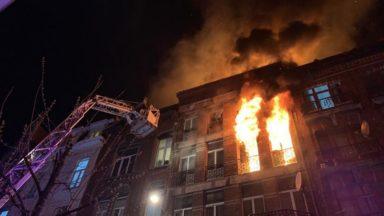 Anderlecht : un mort et plusieurs blessés graves après l'incendie rue Heyvaert
