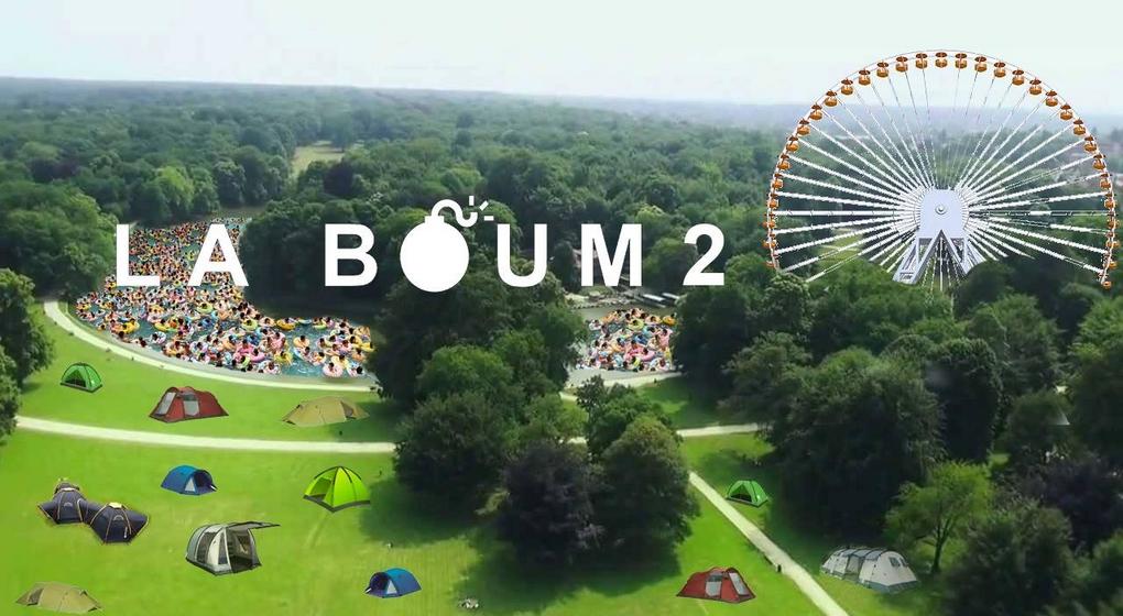 La Boum 2 - Affiche Facebook