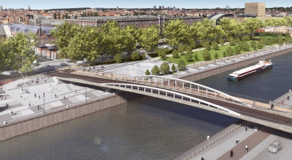 Pont Suzan Daniel Bruxelles Molenbeek - Beliris