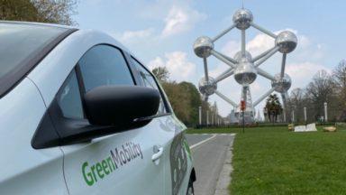 GreenMobility, société de véhicules partagés électriques, débarque à Bruxelles