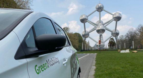 Voiture partagée électrique GreenMobility - Bruxelles - Photo GreenMobility