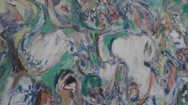 PierreAlechinskyet l'art aborigène exposés aux Musées des Beaux-Arts