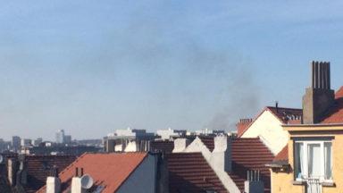 Anderlecht : dégagement de fumée à Clemenceau, les pompiers dépêchés sur place