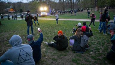 Bois de la Cambre : un nouveau rassemblement vendredi se solde par onze arrestations