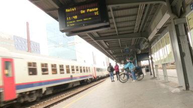 Week-end de Pâques : situation calme dans les trains vers la côte