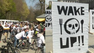 Wake Up et Cycle for Freedom : deux actions pour dénoncer la gestion de crise