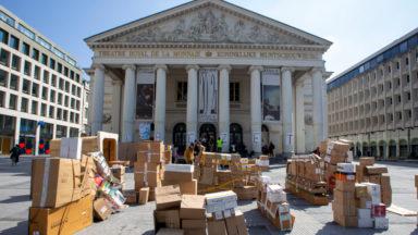 Occupation de la Monnaie : les représentants reçus ce jeudi chez Sophie Wilmès