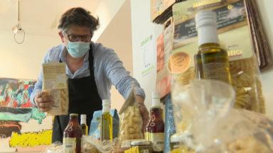 Ixelles : pour rester ouverte, la galerie Nardone se transforme en épicerie fine