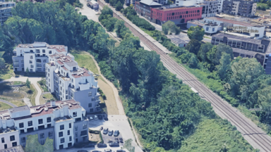 À Uccle, des riverains s'opposent au percement d'un espace vert