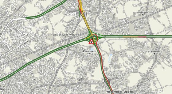 Accident Woluwe-Saint-Etienne Ring - 03052021