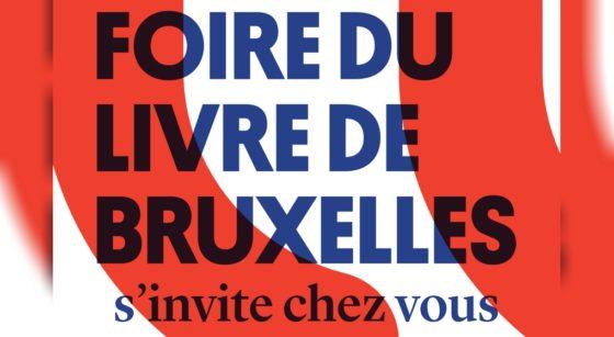 Affiche Foire du Livre de Bruxelles 2021
