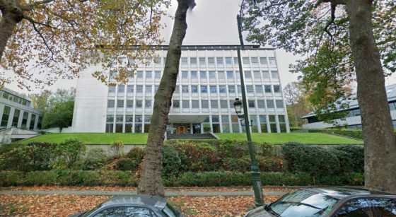 Bâtiment Gecamines Watermael-Boitsfort - Google Street VIew